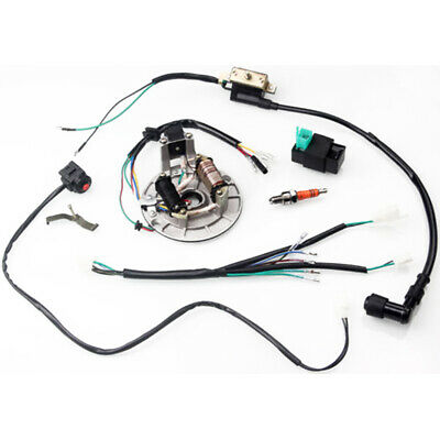 50/70/110/125CC WIRING HARNESS Loom ATV Quad Bike Electric Start