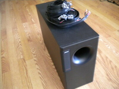 BOSE ACOUSTIMASS 10 Series II Speaker System Subwoofer and