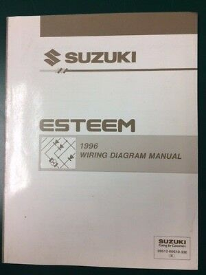 1995 SUZUKI ESTEEM Wiring Diagram Manual - $1227 PicClick