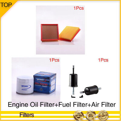PRONTO-ENGINE OIL+FUEL+AIR FILTER 3PCS For 2000-2005 FORD EXCURSION
