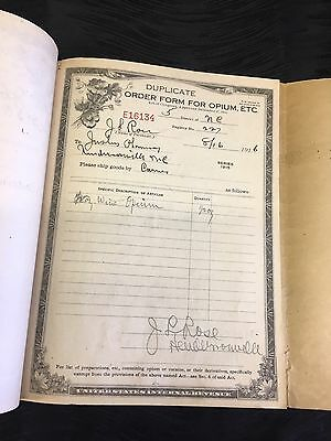 RARE 6 PAGE 1916 US Internal Revenue Service Duplicate Order Form
