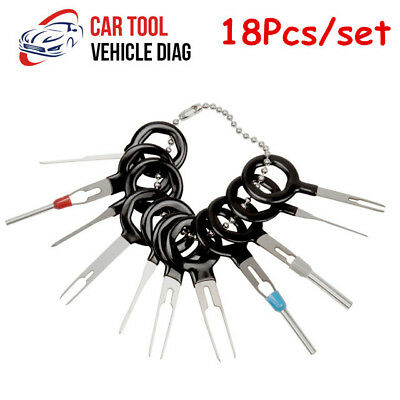 18X CAR WIRE Harness Plug Terminal Extraction Pick Connector Pin