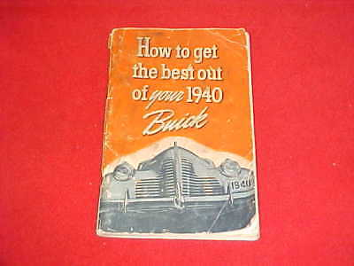 1926 ORIGINAL BUICK Six Owners Manual Service Reference 26 Oem +