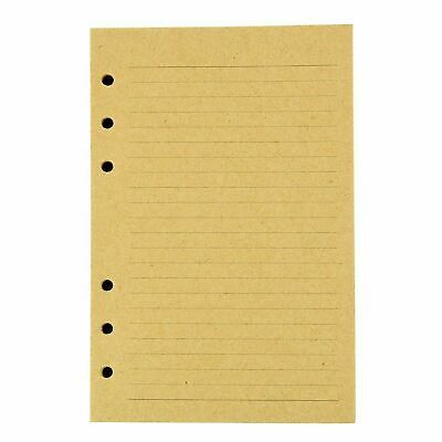 FILLER PAPER JOURNAL Refills Lined and Blank Paper Set of 2 Inserts