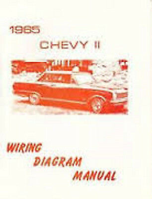 1965 CHEVROLET CORVAIR Wiring Diagram Manual Schematic - $799