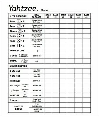 farkle score sheet - Pinephandshakeapp