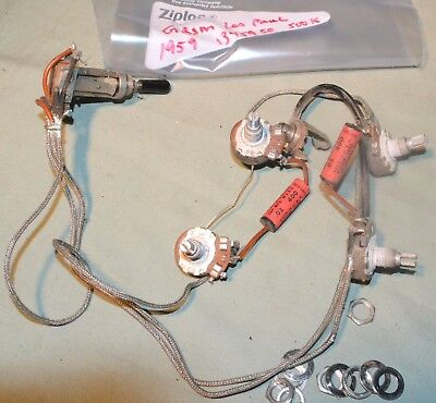 VINTAGE GIBSON WIRING Harness 1959 For Les Paul Burst Fits 1960