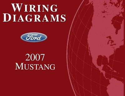 1986 FORD MUSTANG, Capri Electrical Wiring Diagrams Schematics