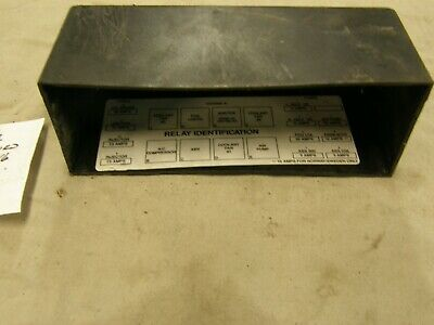 1993 - 1997 Chevy Camaro Under The Hood Fuse Box Relay Cover OEM