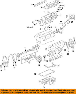GM OEM-ENGINE CRANKSHAFT Crank Main Bearing 12648786 - $1802 PicClick