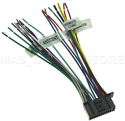 22PIN WIRE HARNESS For Kenwood Dnx-9980Hd Dnx9980Hd *pay Today Ships