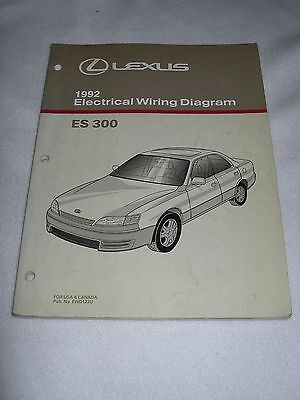 1998 LEXUS ES 300 Electrical Wiring Diagram Manual - $4000 PicClick