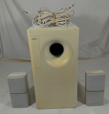BOSE ACOUSTIMASS 5 Series III Speaker Subwoofer System -White