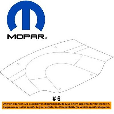 DODGE CHARGER CHALLENGER Magnum 300 Engine Splash Guard Shield