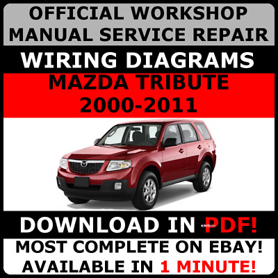 2009 MAZDA TRIBUTE Workshop Service Repair Shop Manual WIRING