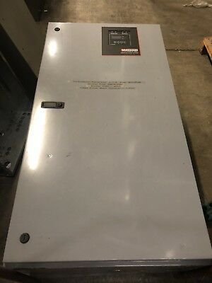 USED INDOOR AUTOMATIC Transfer Switch N1 600Amps 3 Phase 60 Hertz
