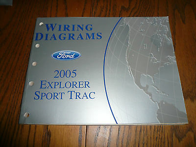 2005 FORD EXPLORER Sport Trac Electrical Vacuum Wiring Diagrams
