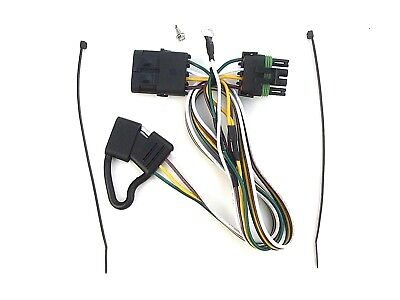 07-18 WRANGLER TRAILER WIRING wire HARNESS hitch 4-way towing