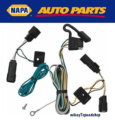 MOPAR 7 PIN 4 Pin Connector Trailer Harness Wiring Plug Tow Adapter