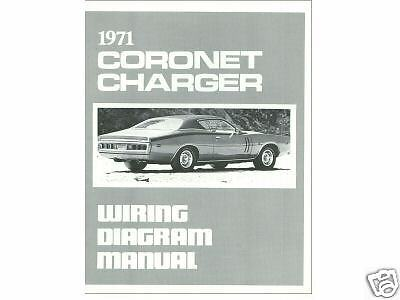 1967 DODGE CORONET Wiring Diagram Manual - $799 PicClick