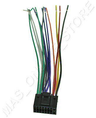 WIRE HARNESS FOR Jvc Kw-R910Bt Kwr910Bt *pay Today Ships Today