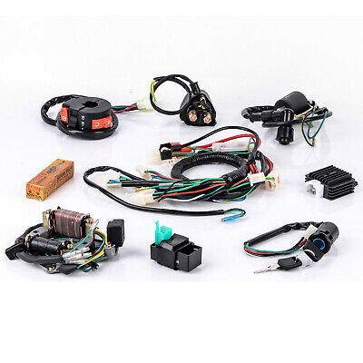 NEW 50 70 90 110 125CC CDI Wire Harness Assembly Wiring Kit ATV