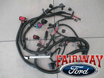 04 SUPER DUTY OEM Ford Engine Wiring Harness 60L BUILT AFTER 9/23