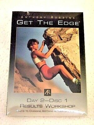 TONY ROBBINS Get The Edge Replacement CD Day 2 Disc 1 Results - tony robbins disc