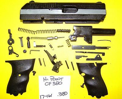 HI POINT CF 380 In 380 All Parts Pictured Very Clean All 4 One Price