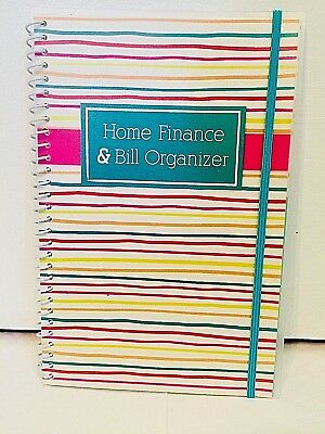 BILL ORGANIZER And Monthly Home Finance With Pockets 4 More Styles