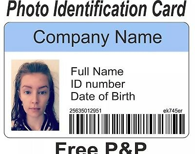 FAKE ID STUDENT card Personalised, novelty, prop, prank - £500 - student identification card