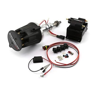 NEW PRO BILLET Ignition Distributor W/ Coil and Wires For Ford 289