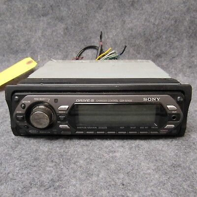 SONY MODEL CDX-GT400 Car Audio CD Player Radio Xplod w/ Pigtail Used