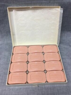 COLD CREAM PINK Soap Bar NOS Vintage New Old Stock White King