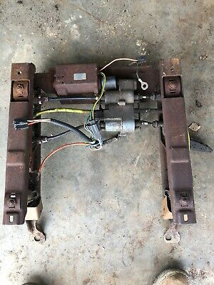 1960S GM 6 WAY POWER BENCH SEAT WITH WIRING HARNESS AND CONTROLS