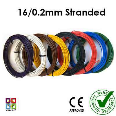 DCC LAYOUT WIRES for Droppers -Track Bus -Track Power - 16/02mm
