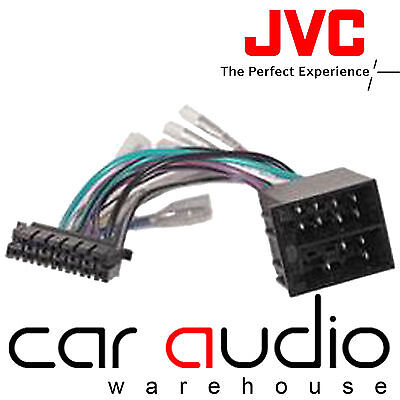 KENWOOD / JVC 16 Pin ISO Wiring Harness Connector Adaptor Car Stereo