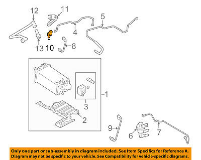 FORD OEM-PCV VALVE 2X4Z6A666AA - $1112 PicClick