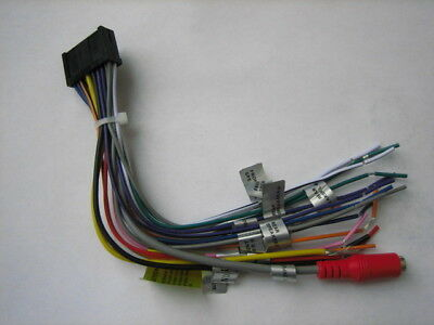 ORIGINAL DUAL WIRE Harness For XNAV267BT, DVN927BT, DAC1025BT