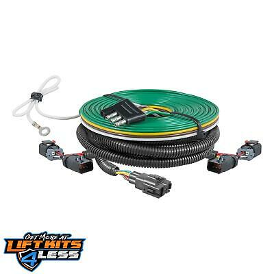 CURT 58917 CUSTOM Towed-Vehicle Rv Wiring Harness for 2002-2007 Jeep