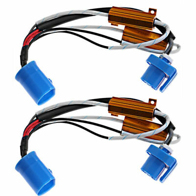 LED XENON HID headlight Load Resistor Wiring Harness Adapter 9007