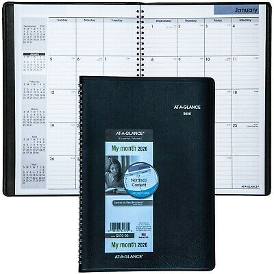 2019 AT-A-GLANCE DAYMINDER G470, G470-00 Monthly Planner, 7-7/8 x 11