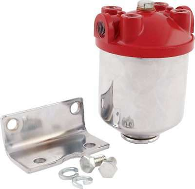 ALLSTAR PERFORMANCE INLINE Frame Mount Canister Fuel Filter ALL40250
