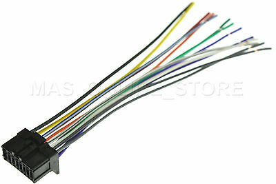 pioneer wire harness deh1800