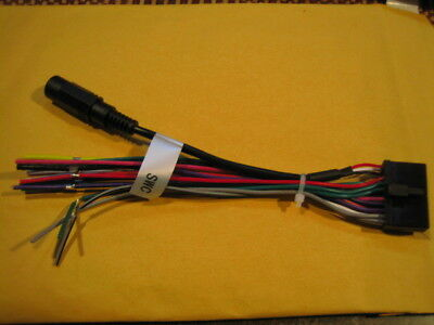 WIRE HARNESS FOR Jensen 20 Pin Power Plug CD Player MP3 Radio DVD