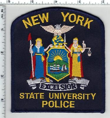 NEW YORK STATE POLICE SHOULDER PATCH ( SUBDUED - Gray) - $800 - Nys University Police