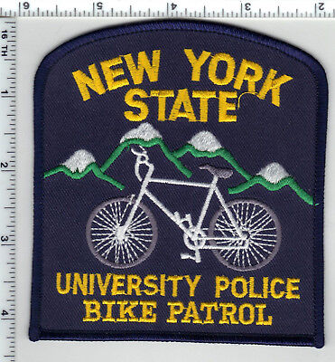 NEW YORK STATE Police - Shoulder - Iron On Patch - $550 PicClick - nys university police
