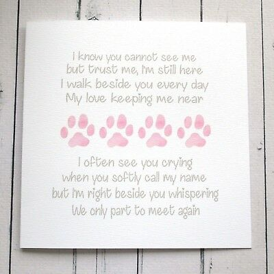 LOSS OF YOUR Pet / Pet Bereavement Card / Dog Sympathy Card / Loss