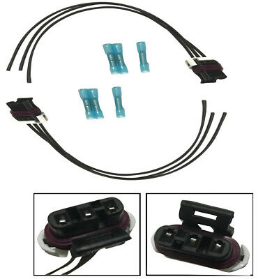 2X TURN SIGNAL Wiring Harness Pigtail Connector for 05-14