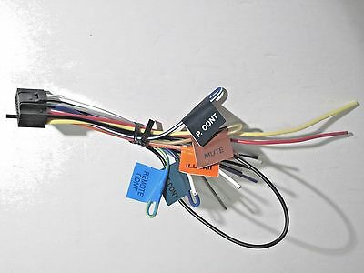 ORIGINAL KENWOOD KDC-BT555U Wire Harness New Oem B1 - $1182 PicClick